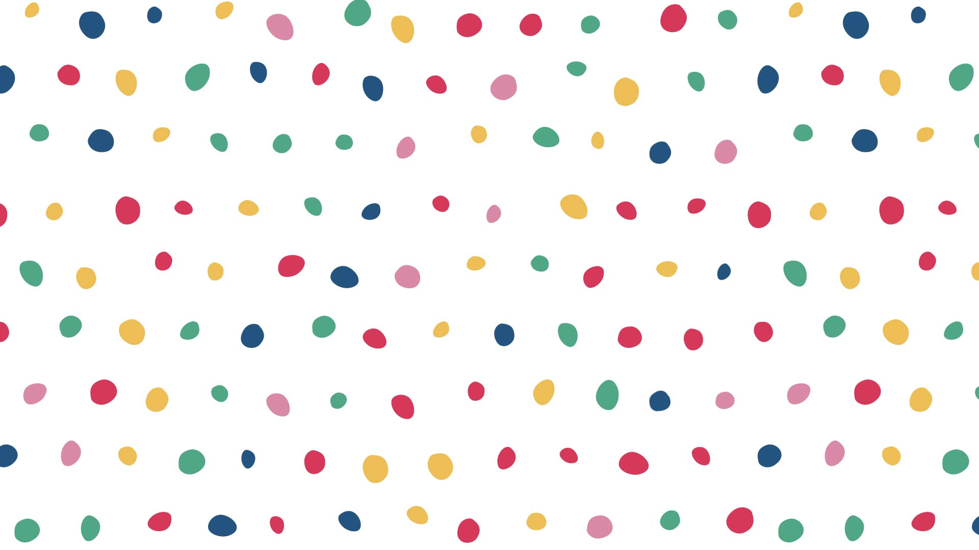 A background image with spots in lots of different colors